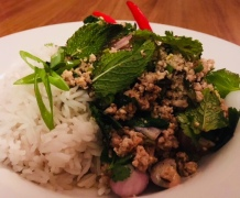 Spicy Minced Pork Salad